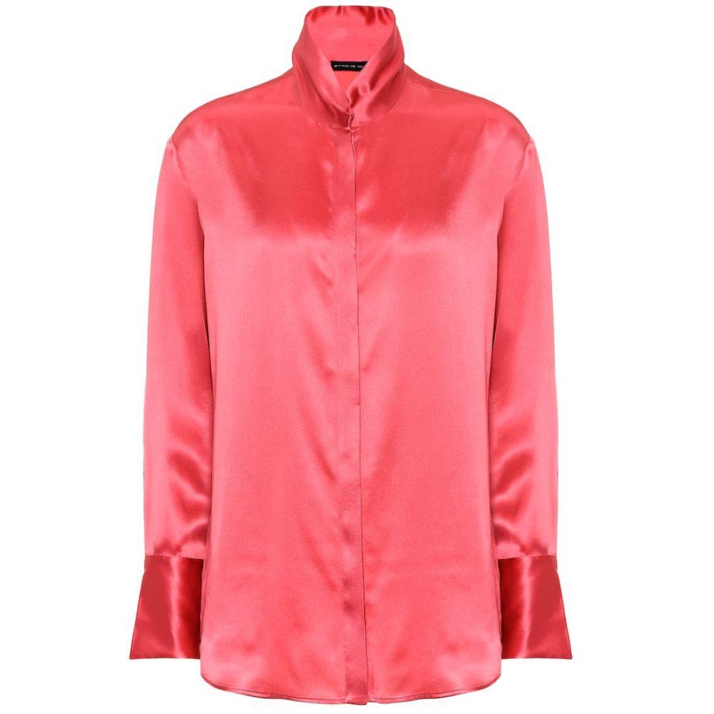 エトロ Etro レディース トップス ブラウス・シャツ【Silk blouse】