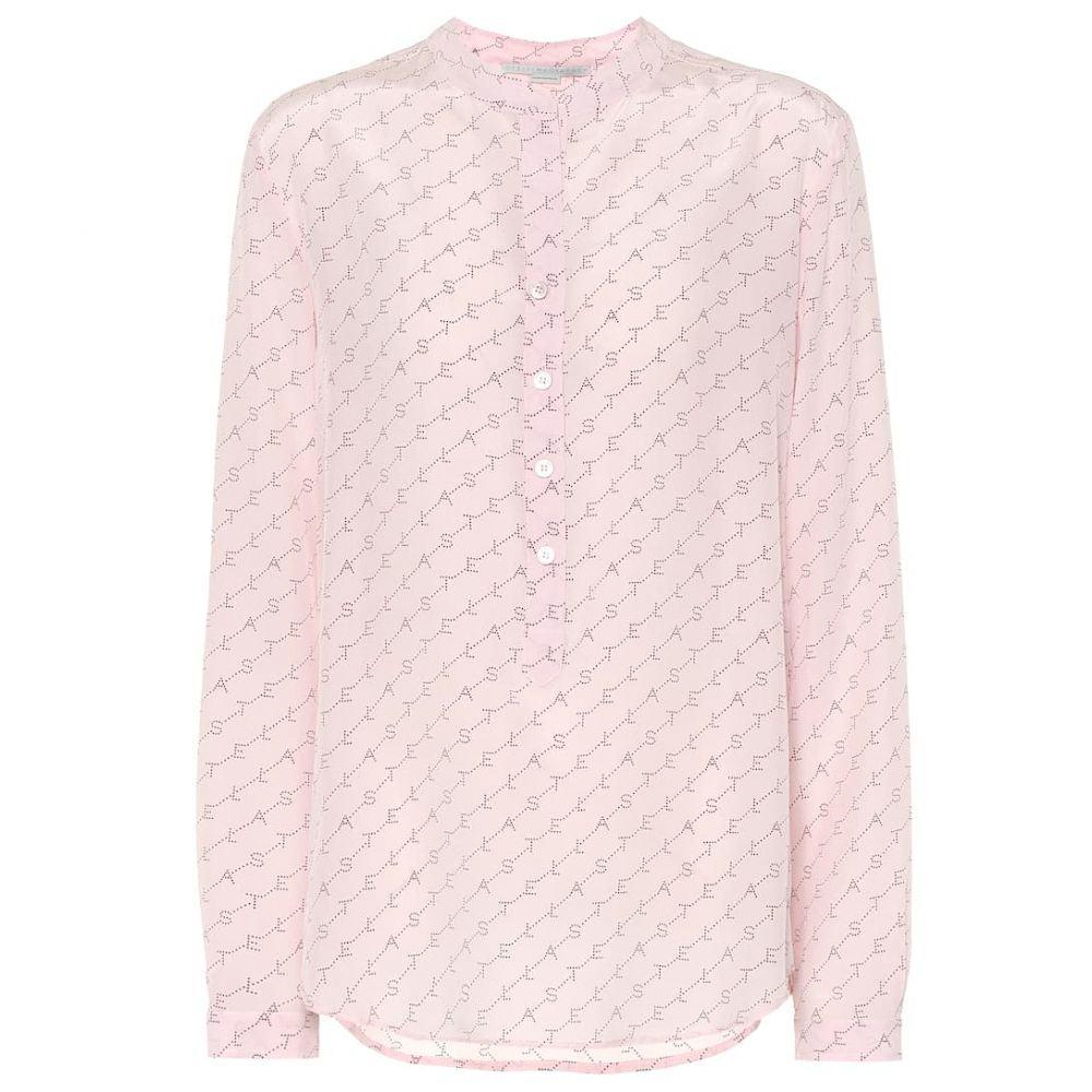 ステラ マッカートニー Stella McCartney レディース トップス ブラウス・シャツ【Eva silk shirt】Pale Pink