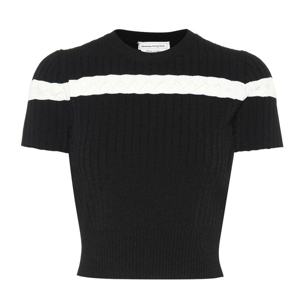 アレキサンダー マックイーン Alexander McQueen レディース トップス【Knit top】Black