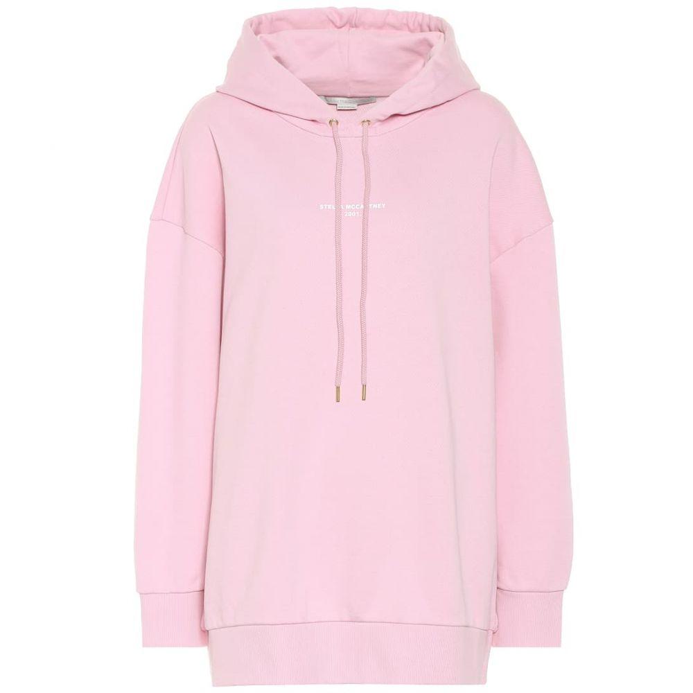 ステラ マッカートニー Stella McCartney レディース トップス パーカー【Oversized cotton hoodie】Pink Tulip