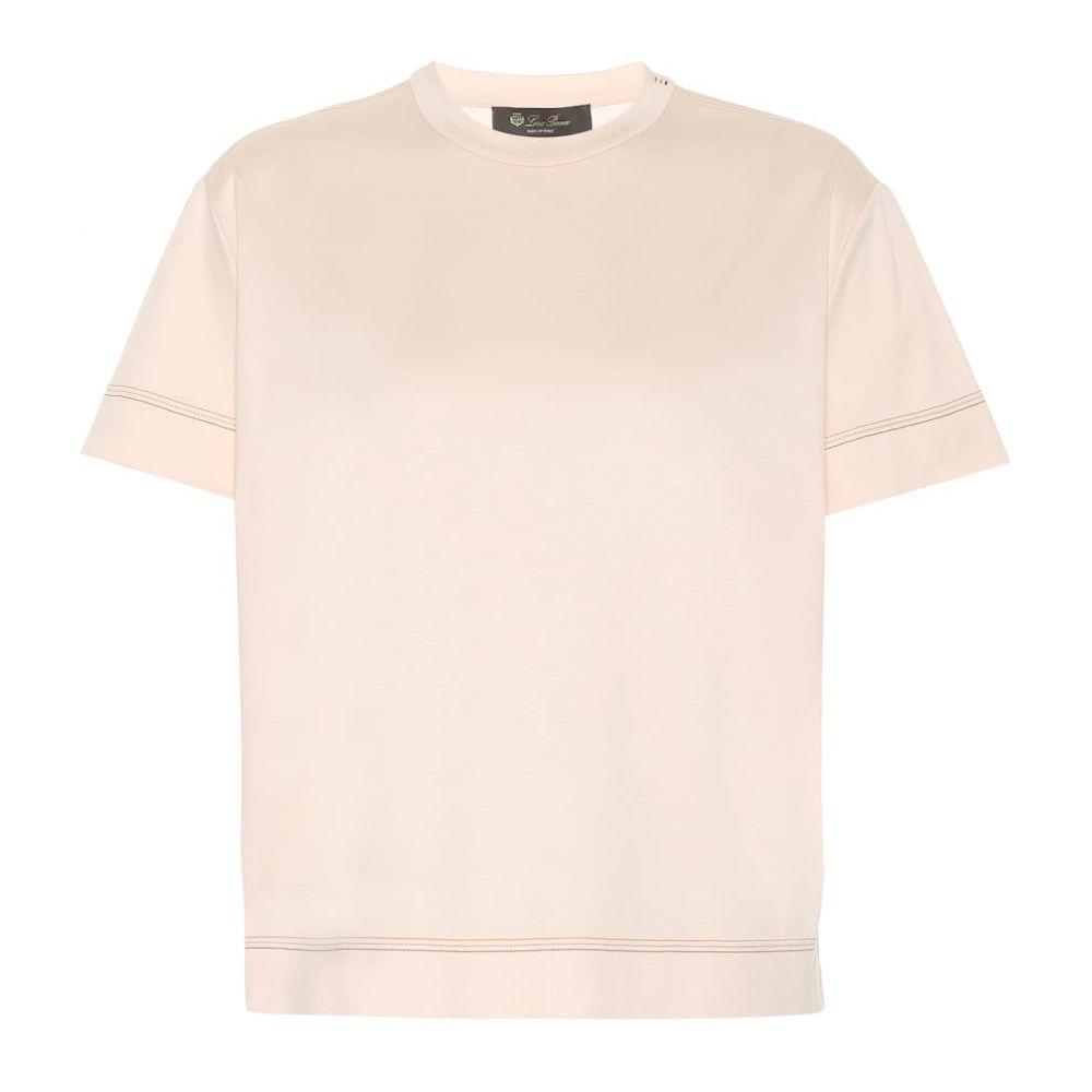 ロロピアーナ レディース Loro Piana レディース トップス ロロピアーナ Tシャツ Tシャツ【Cube【Cube cotton T-shirt】, 上野原町:1a82d860 --- ww.thecollagist.com