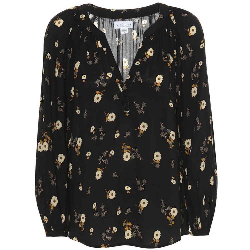 ベルベット グラハム&スペンサー Velvet レディース トップス ブラウス・シャツ【Jasmine floral blouse】jasmine