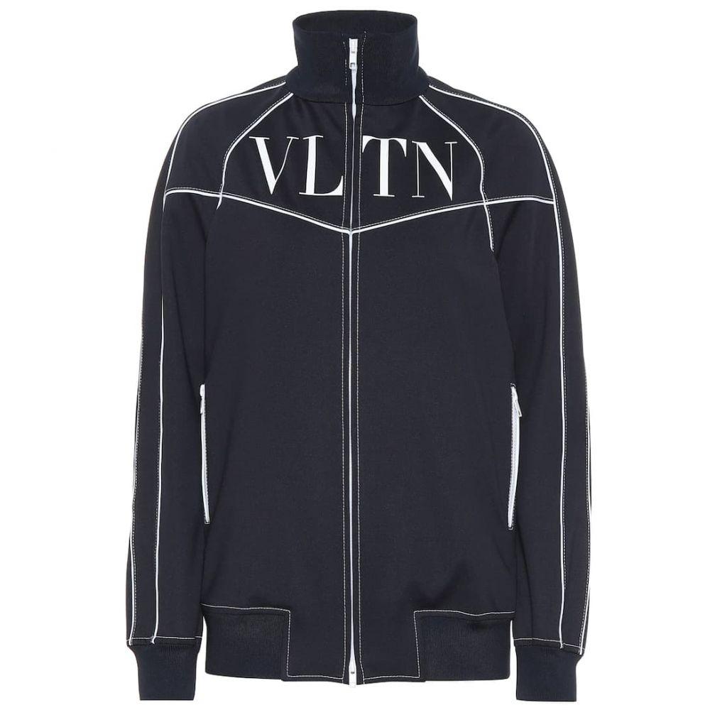 ヴァレンティノ Valentino レディース ジャージ アウター【VLTN tech jersey track jacket】