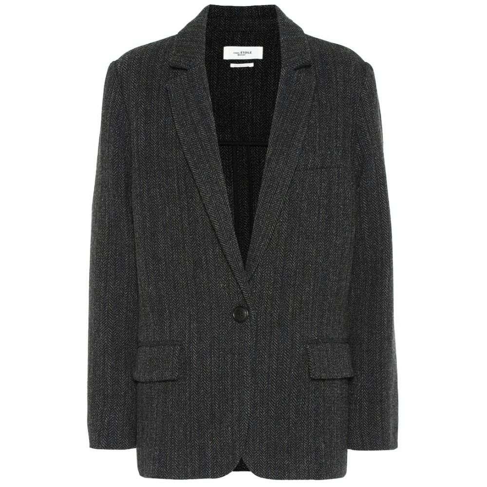 イザベル マラン Isabel Marant, Etoile レディース スーツ・ジャケット アウター【Charly herringbone wool jacket】Black