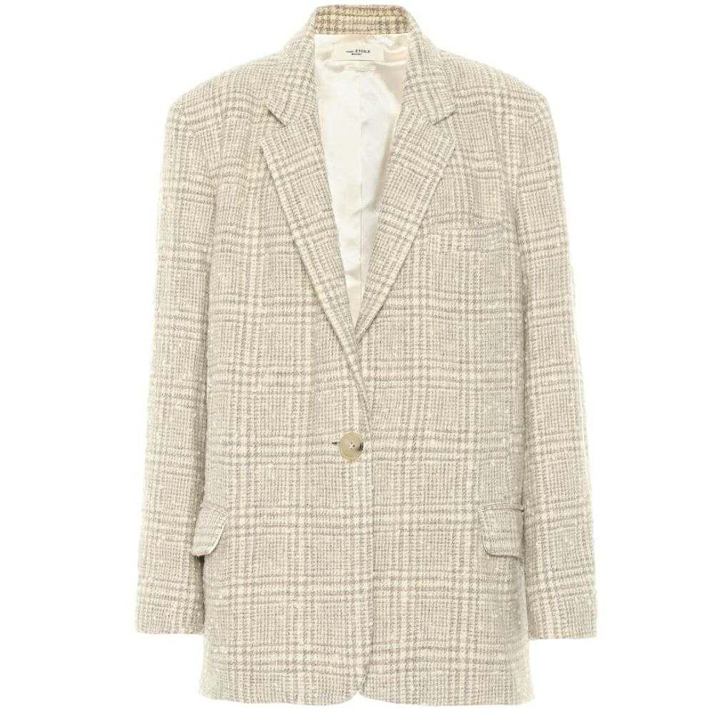 イザベル マラン Isabel Marant, Etoile レディース スーツ・ジャケット アウター【Korix checked wool-blend jacket】Beige