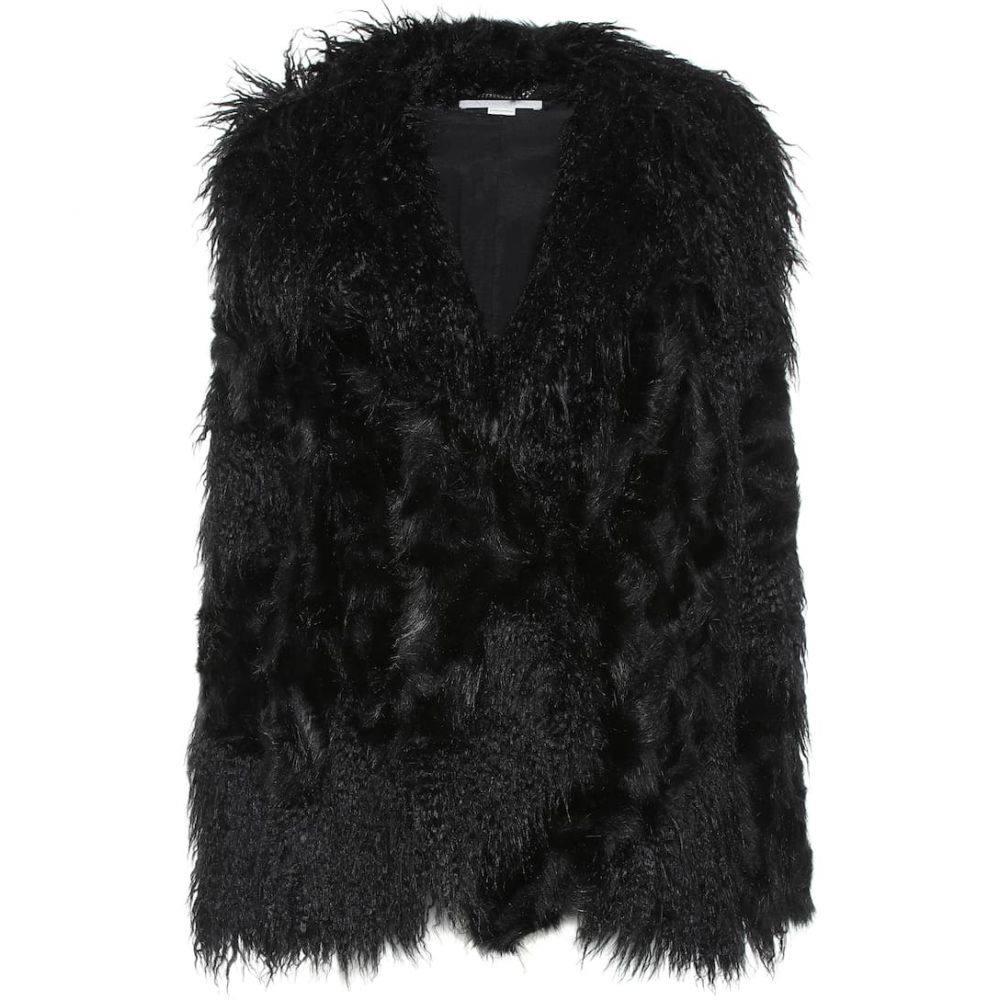 ステラ マッカートニー Stella McCartney レディース ジャケット アウター【Faux fur jacket】Black