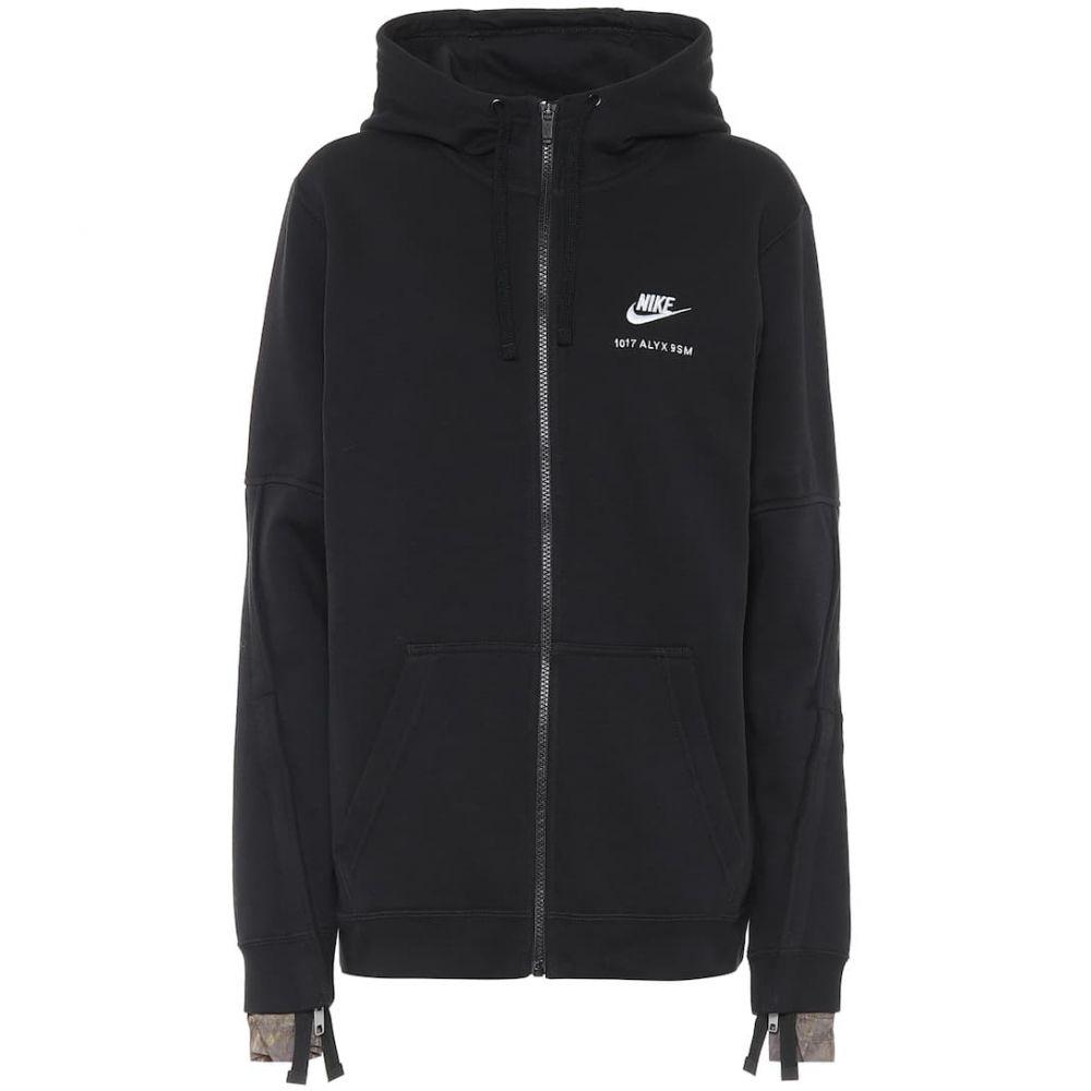 アリクス 1017 ALYX 9SM レディース ジャケット アウター【x Nike cotton-blend jacket】Black