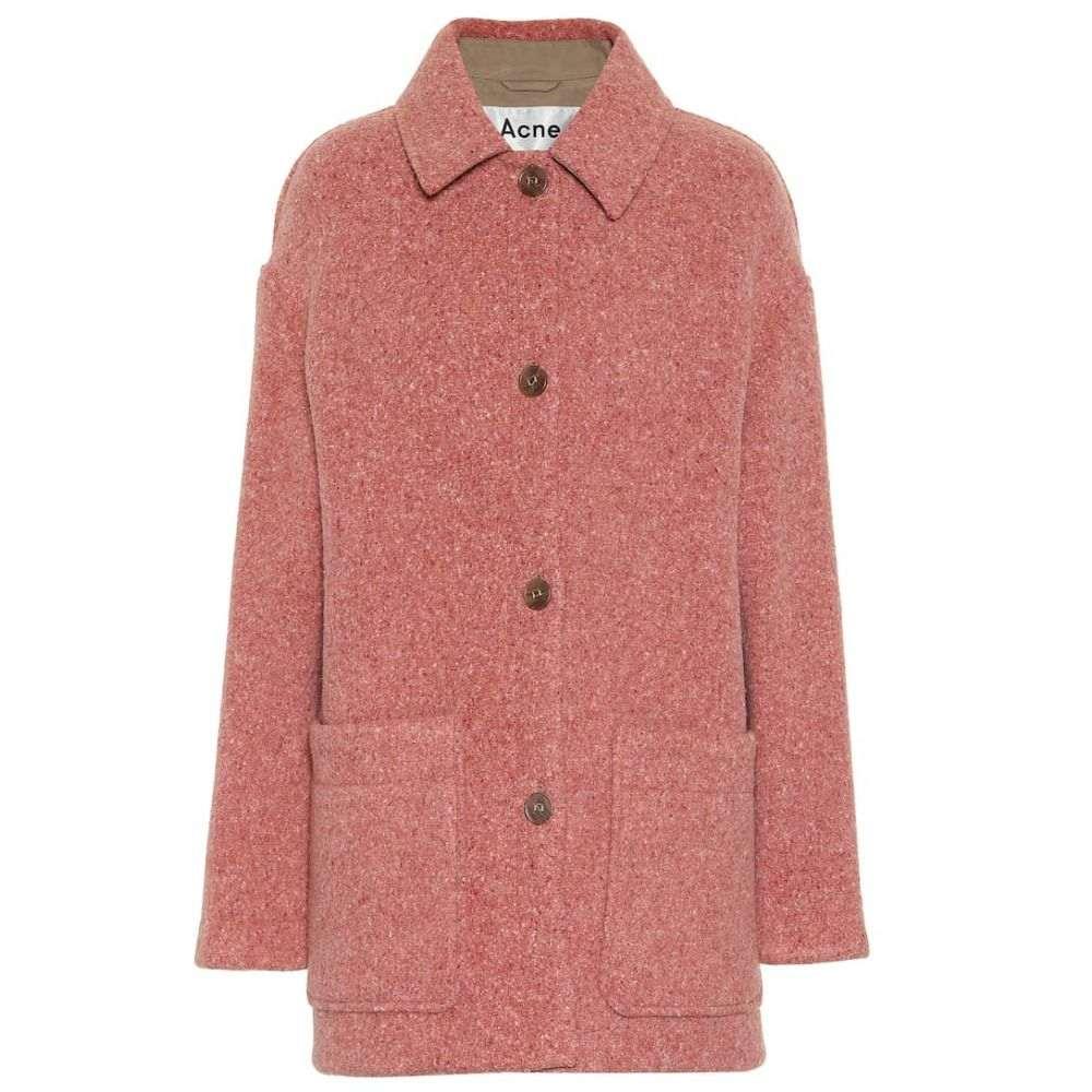アクネ ストゥディオズ Acne Studios レディース ジャケット アウター【Wool-blend jacket】Multi Pink