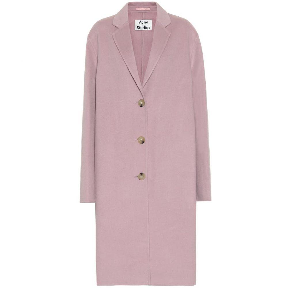 アクネ ストゥディオズ Acne Studios レディース コート アウター【Wool coat】Powder Pink Melange