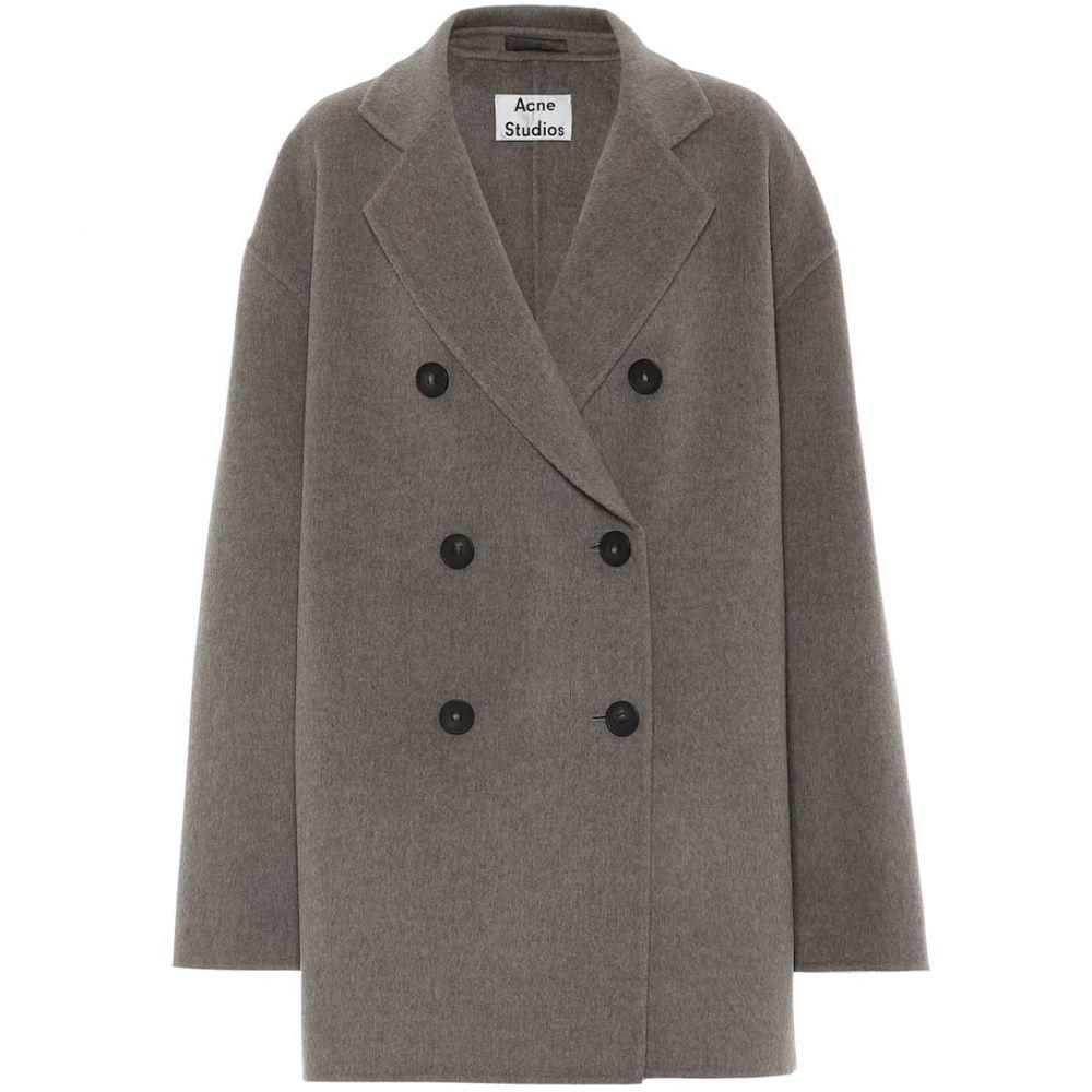 アクネ ストゥディオズ Acne Studios レディース コート アウター【Wool coat】Stone Grey Melange