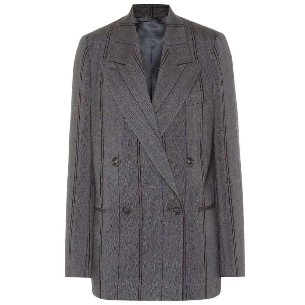 アクネ ストゥディオズ Acne Studios レディース スーツ・ジャケット アウター【Checked wool and cotton blazer】Grey/Purple