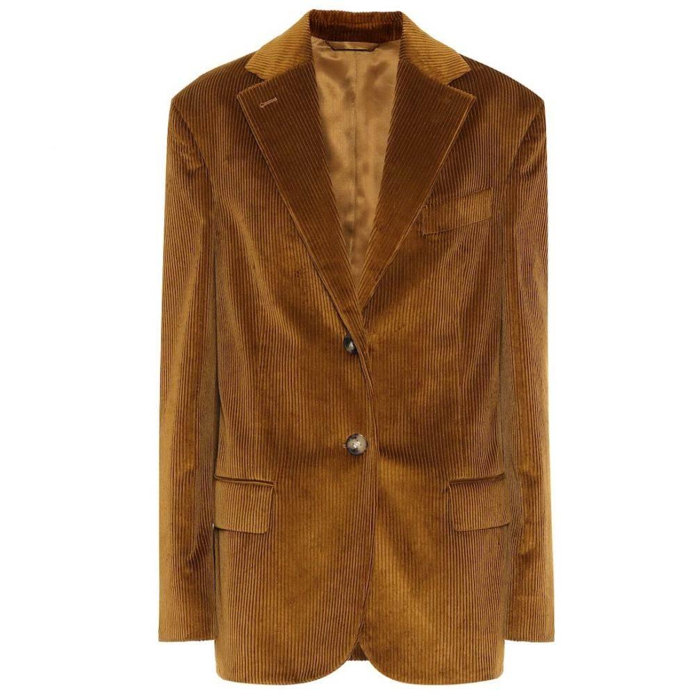 アクネ ストゥディオズ Acne Studios レディース スーツ・ジャケット アウター【Corduroy blazer】Oil Yellow