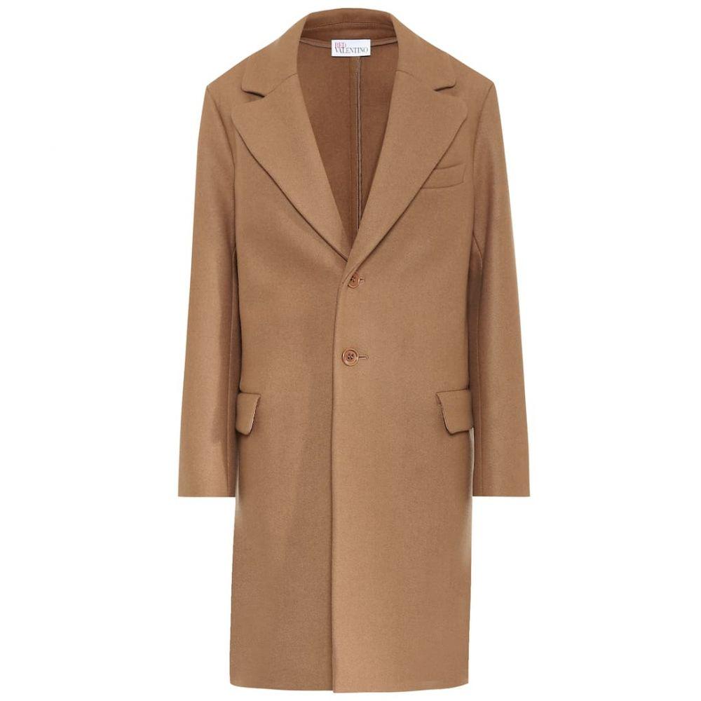レッド ヴァレンティノ REDValentino レディース コート アウター【Wool-blend coat】Camelo