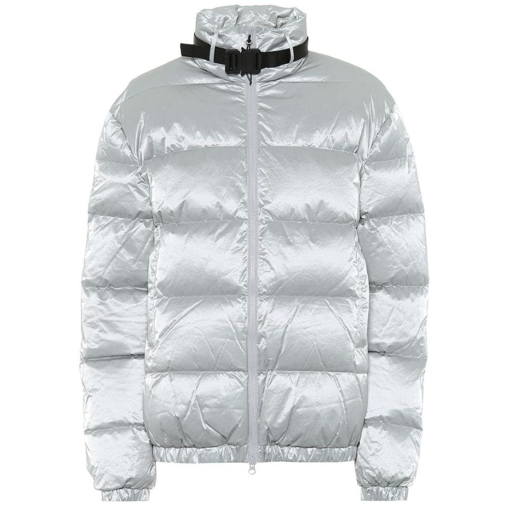 アリクス 1017 ALYX 9SM レディース ダウン・中綿ジャケット アウター【Down tyvek jacket】Silver