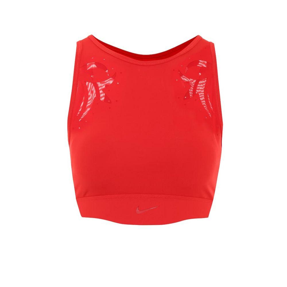 ナイキ Nike レディース スポーツブラ インナー・下着【Mesh sports bra】University Red/Metallic Gold