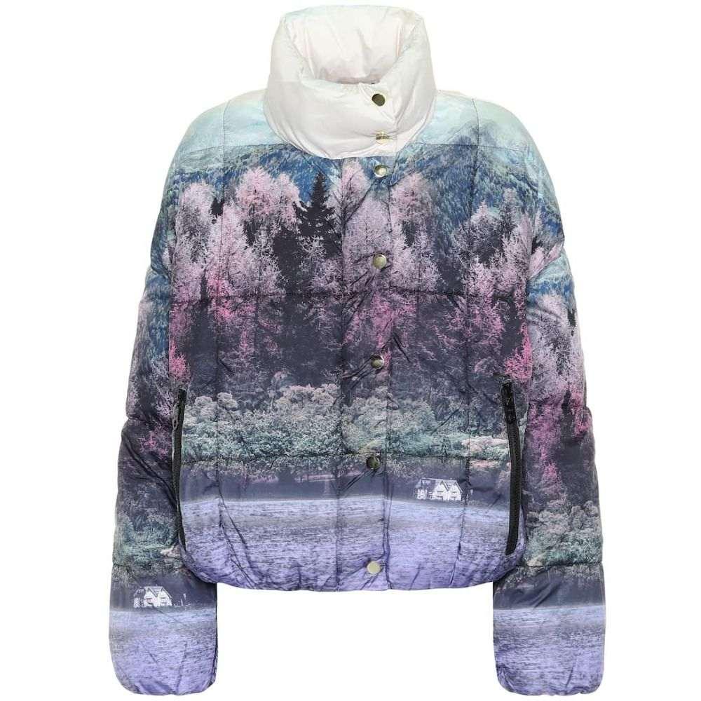 バウム ウンド ヘルガーデン Baum und Pferdgarten レディース ダウン・中綿ジャケット アウター【Brietta printed puffer jacket】Wonderland