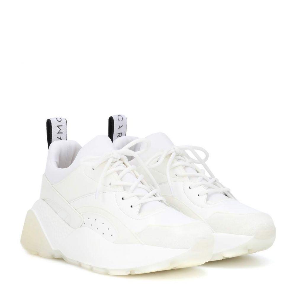 ステラ マッカートニー Stella McCartney レディース スニーカー シューズ・靴【Eclypse sneakers】WHITE