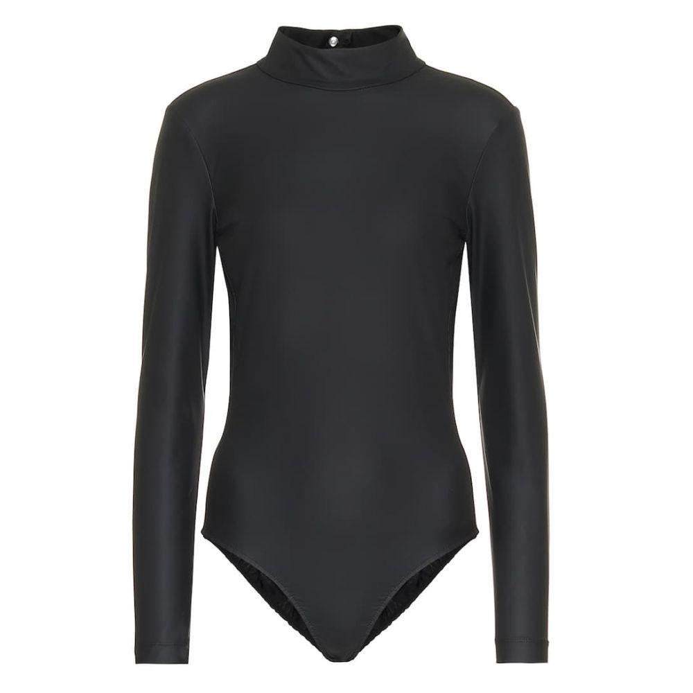 ティビ Tibi レディース ボディースーツ インナー・下着【Scuba bodysuit】Washed Black