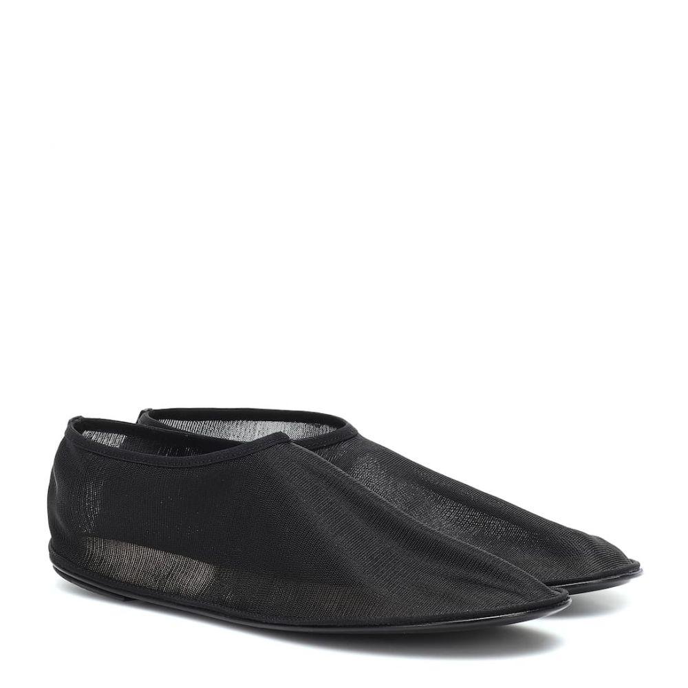 ザ ロウ The Row レディース スリッポン・フラット シューズ・靴【Sock ballet flats】Black
