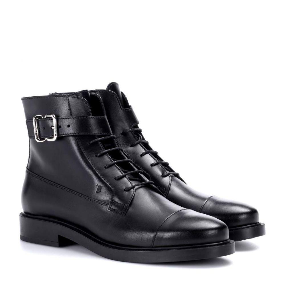 トッズ Tod's レディース ブーツ ショートブーツ シューズ・靴【Leather ankle boots】