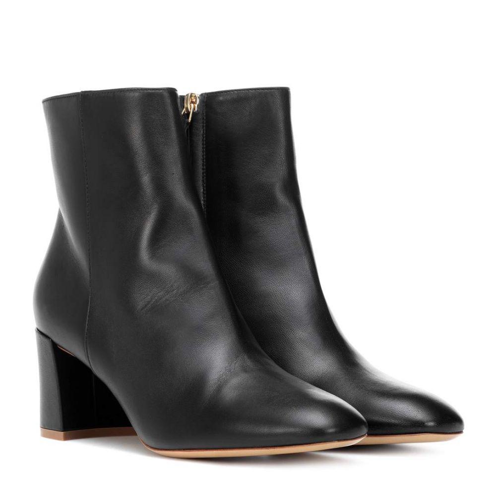 マンサーガブリエル Mansur Gavriel レディース ブーツ ショートブーツ シューズ・靴【Leather ankle boots】Black
