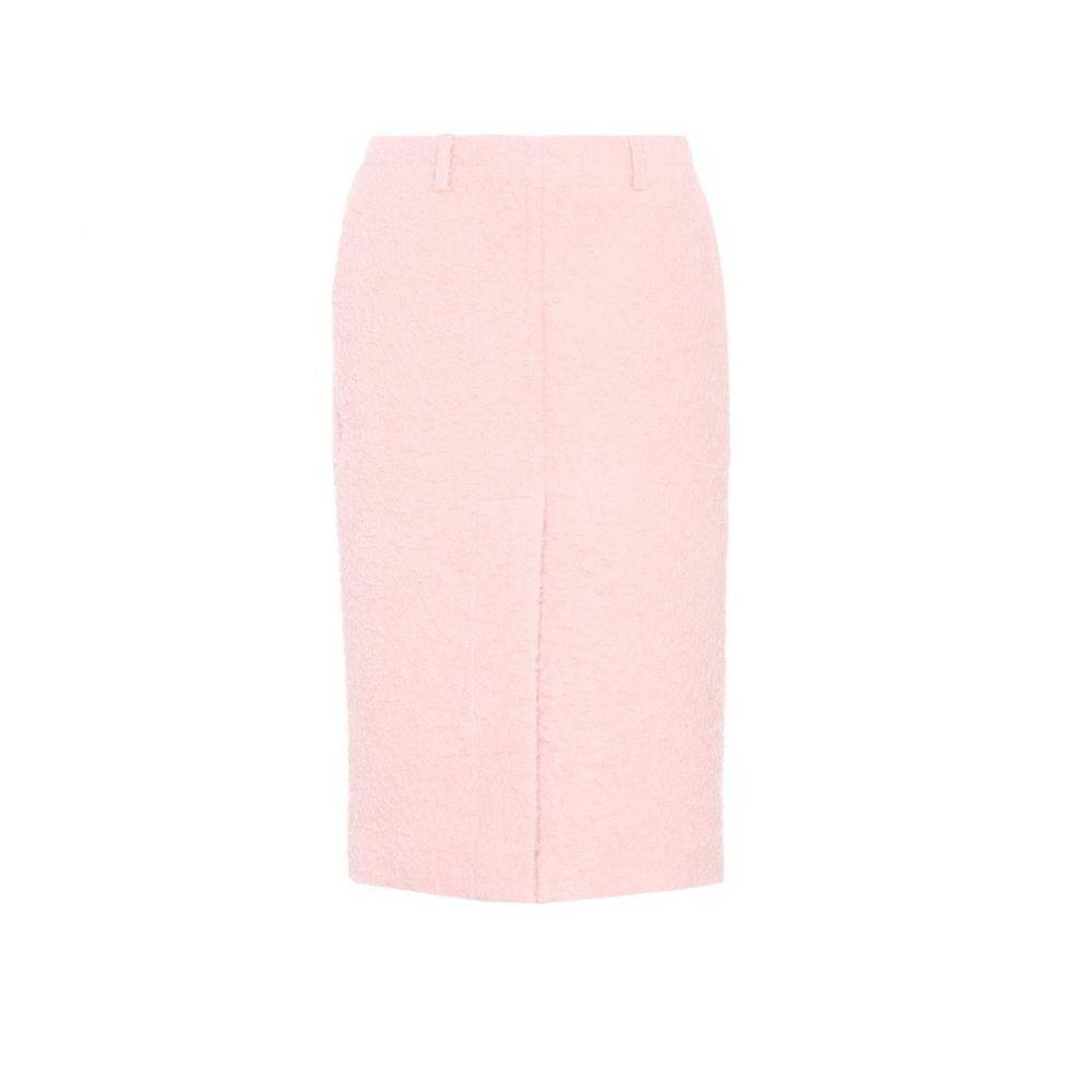 マルニ Marni レディース スカート 【Alpaca and silk skirt】Cinder Rose