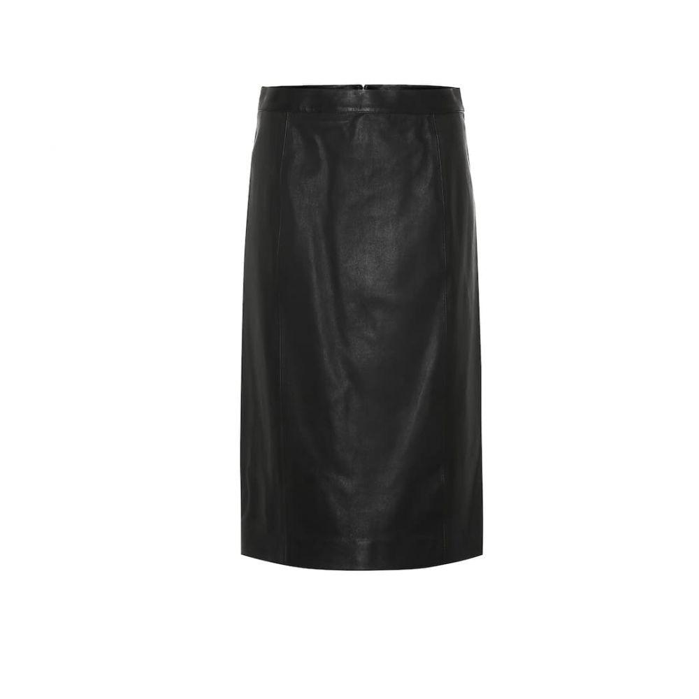 ジョゼフ Joseph レディース スカート 【Leather skirt】Black