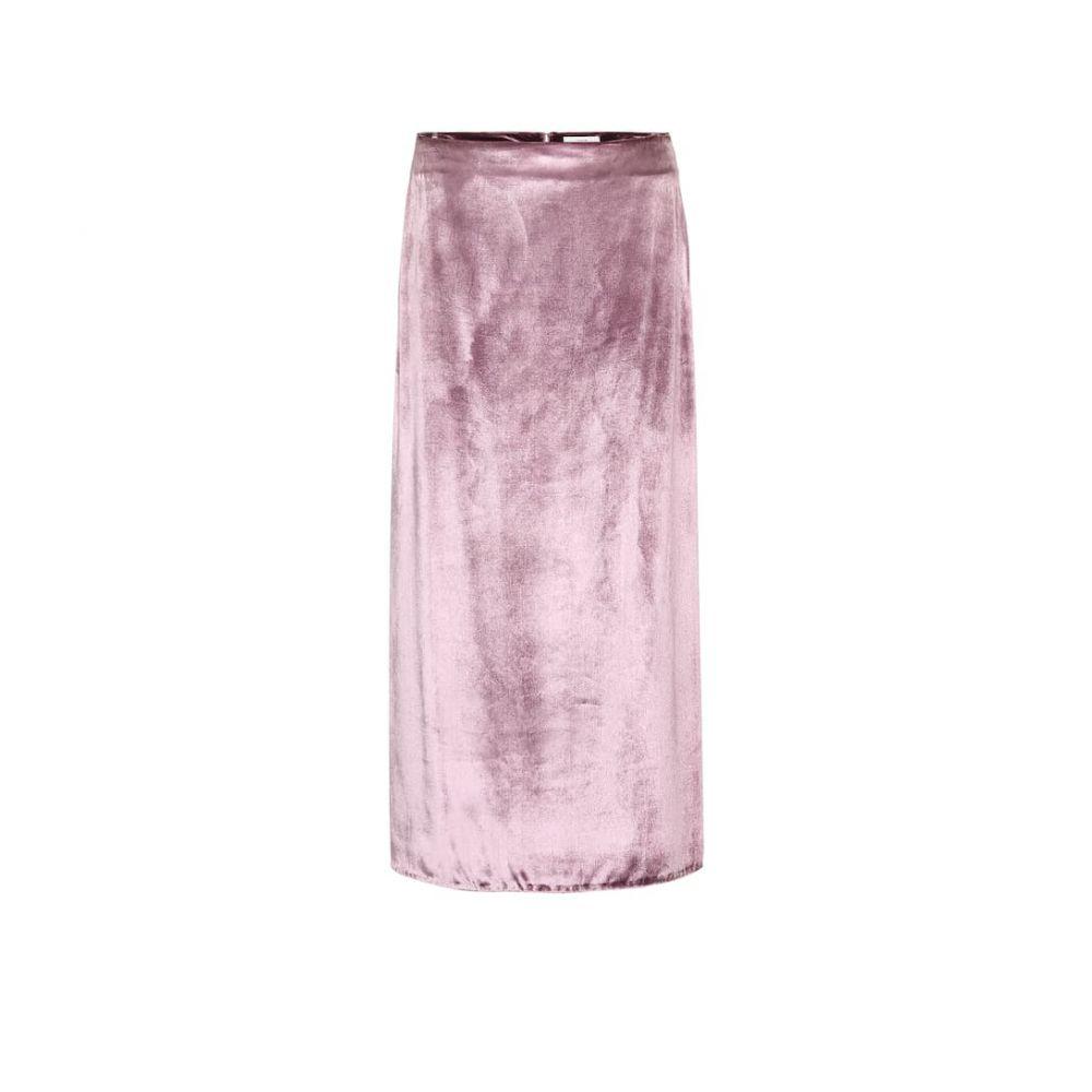 ヴィンス Vince レディース ひざ丈スカート スカート【Velvet midi skirt】
