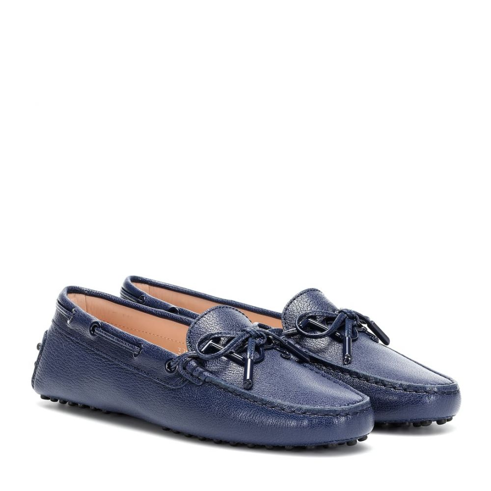 トッズ Tod's レディース ローファー・オックスフォード シューズ・靴【Gommino leather loafers】Tempesta