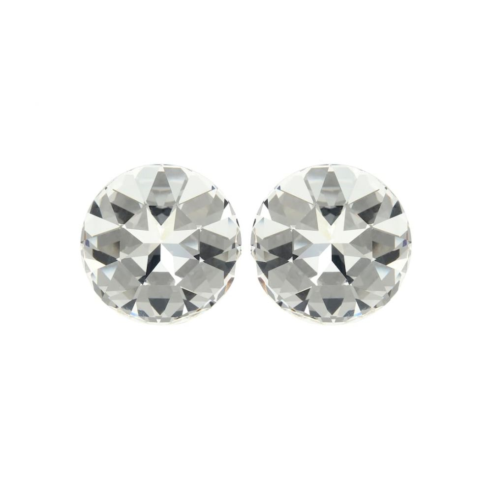 イヴ サンローラン Saint Laurent レディース イヤリング・ピアス ジュエリー・アクセサリー【Crystal-embellished clip-on earrings】