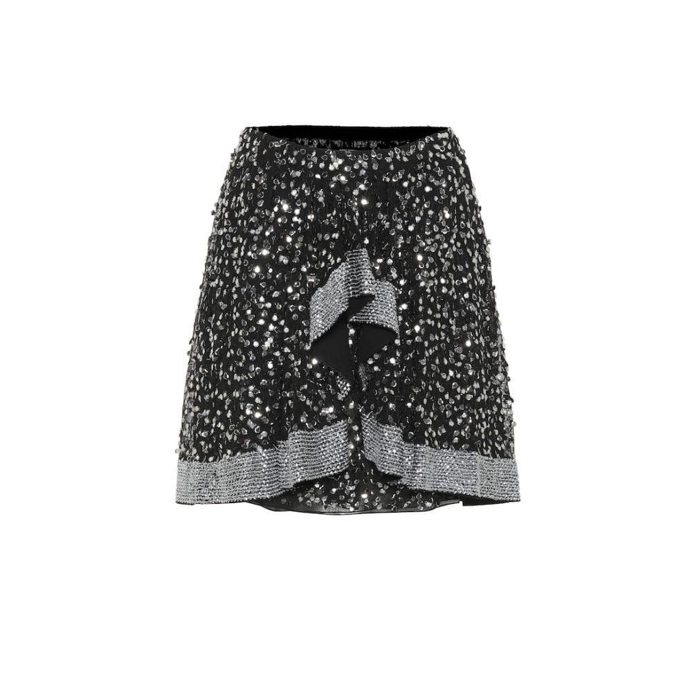 イザベル マラン Isabel Marant レディース ミニスカート スカート【Cole sequined miniskirt】Black