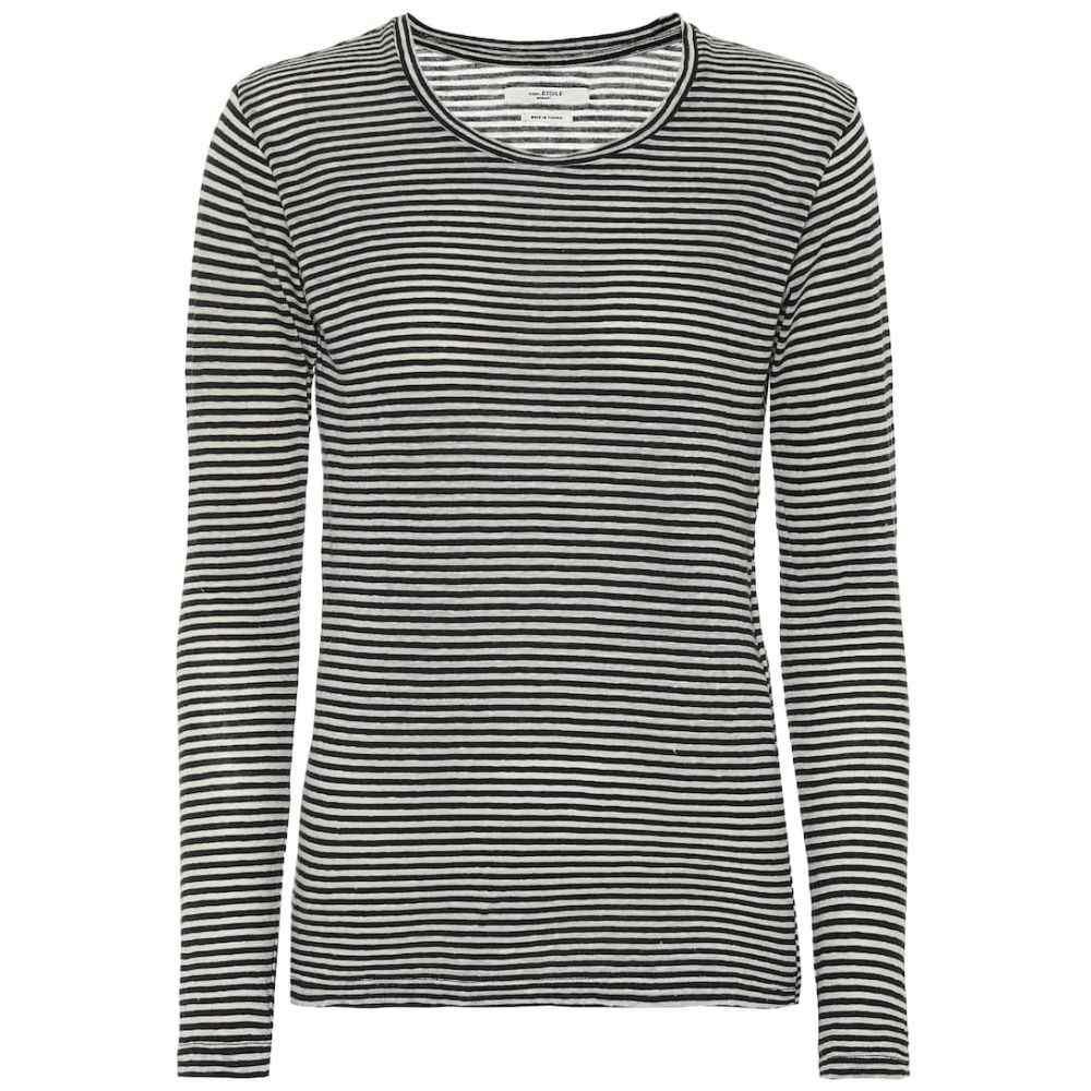 イザベル マラン Isabel Marant, Etoile レディース トップス 【Kaaron striped cotton and linen top】Ecru