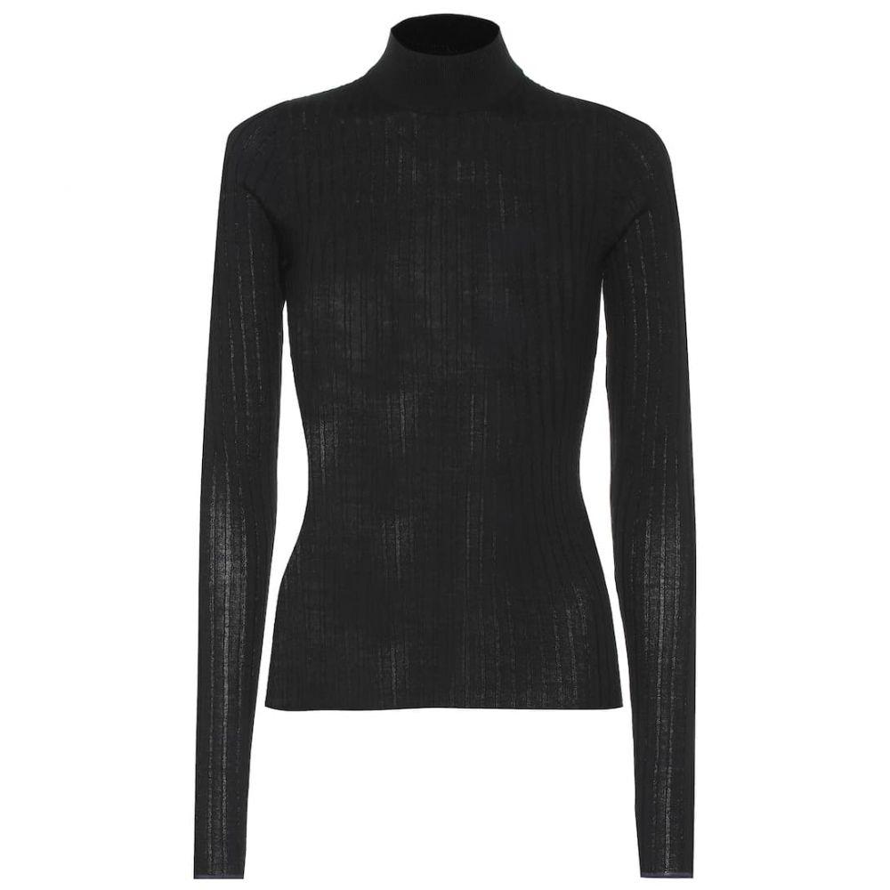 アクネ ストゥディオズ Acne Studios レディース ニット・セーター トップス【Wool high-neck sweater】Black