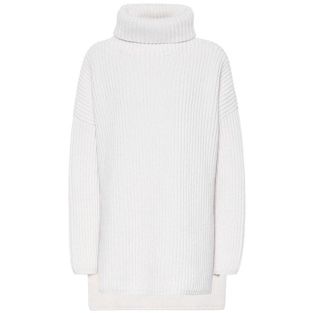 ジョゼフ Joseph レディース ニット・セーター トップス【Ribbed wool turtleneck sweater】Cream