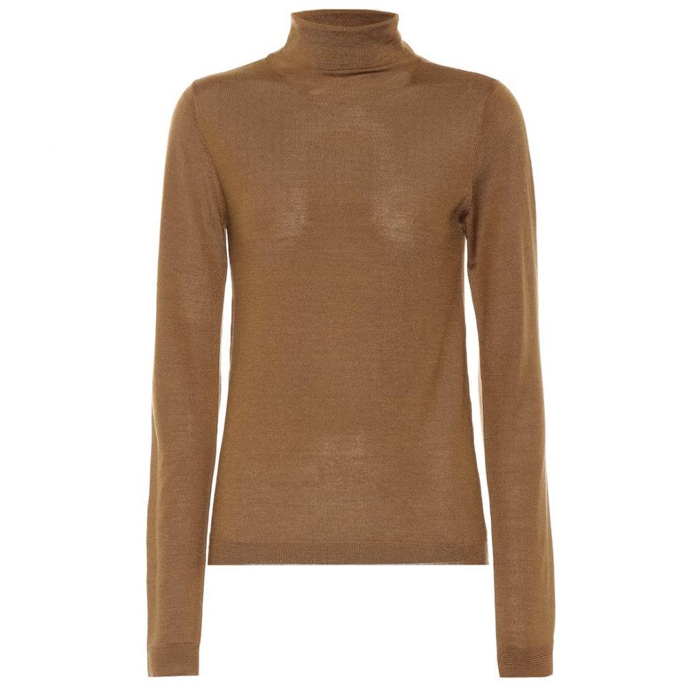 ヴィンス Vince レディース ニット・セーター トップス【Wool and silk turtleneck sweater】