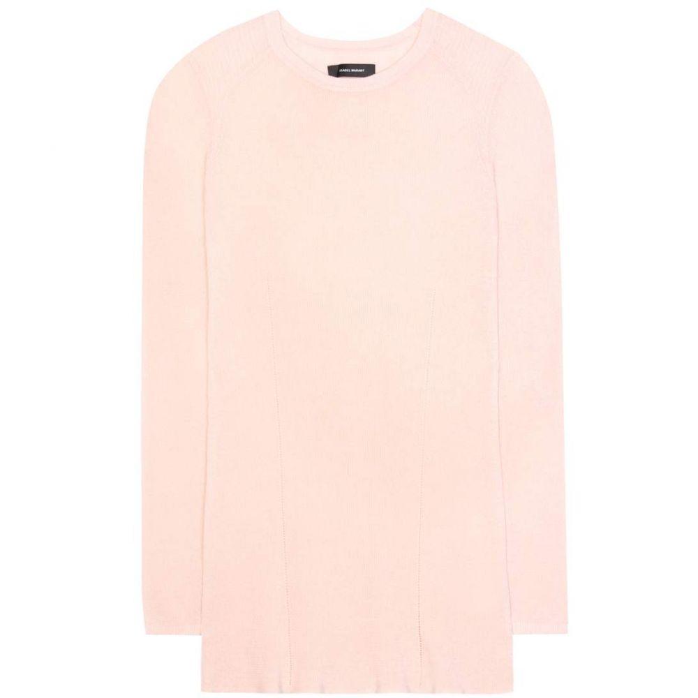 イザベル マラン Isabel Marant レディース ニット・セーター トップス【Zandra linen-blend sweater】Light Pink