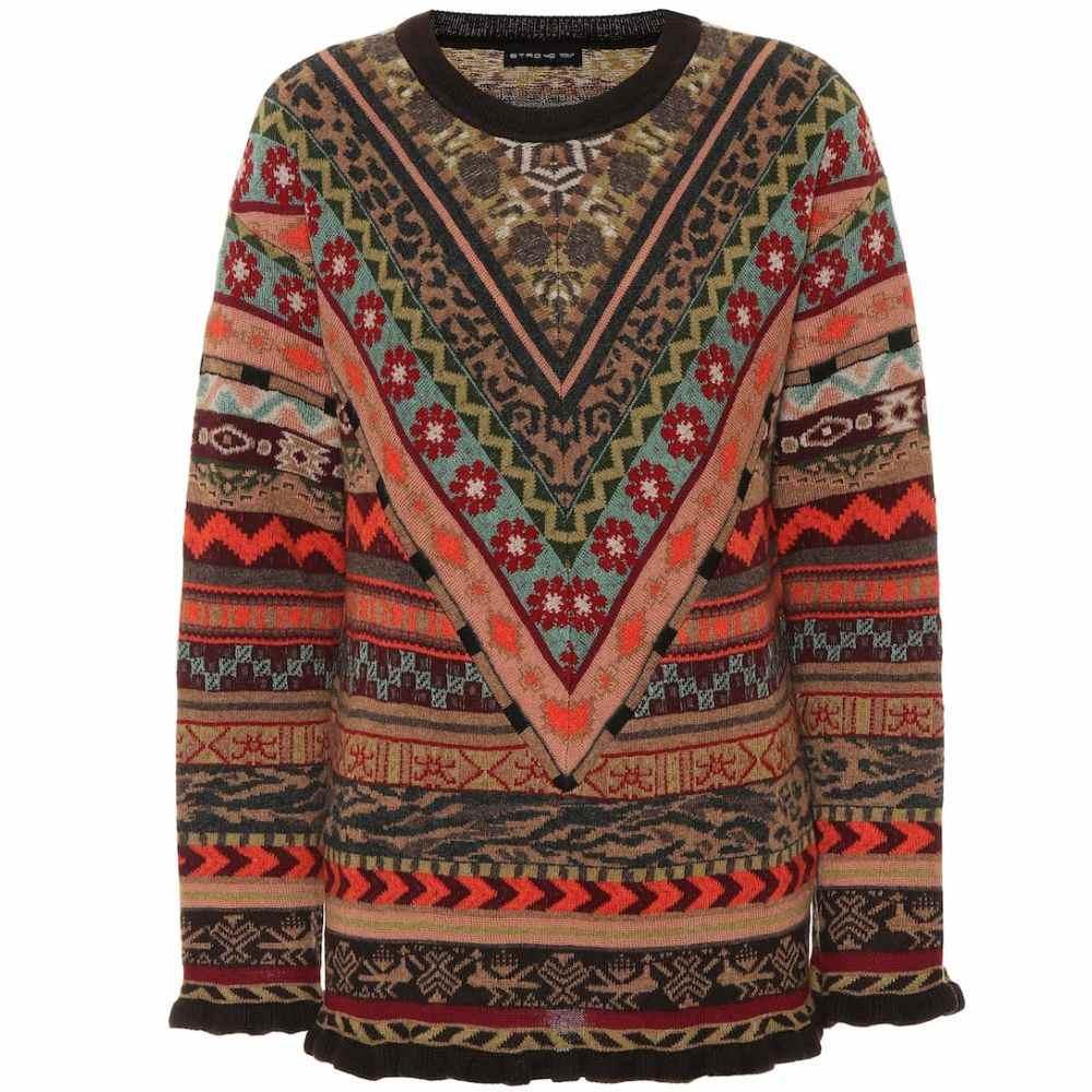 エトロ Etro レディース ニット・セーター トップス【Wool sweater】