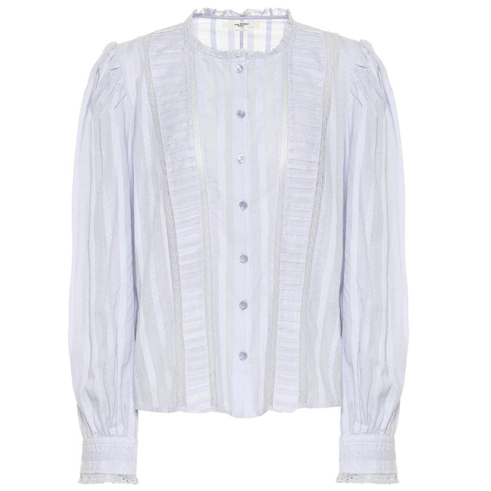 イザベル マラン Isabel Marant, Etoile レディース ブラウス・シャツ トップス【Peachy cotton blouse】Light Blue