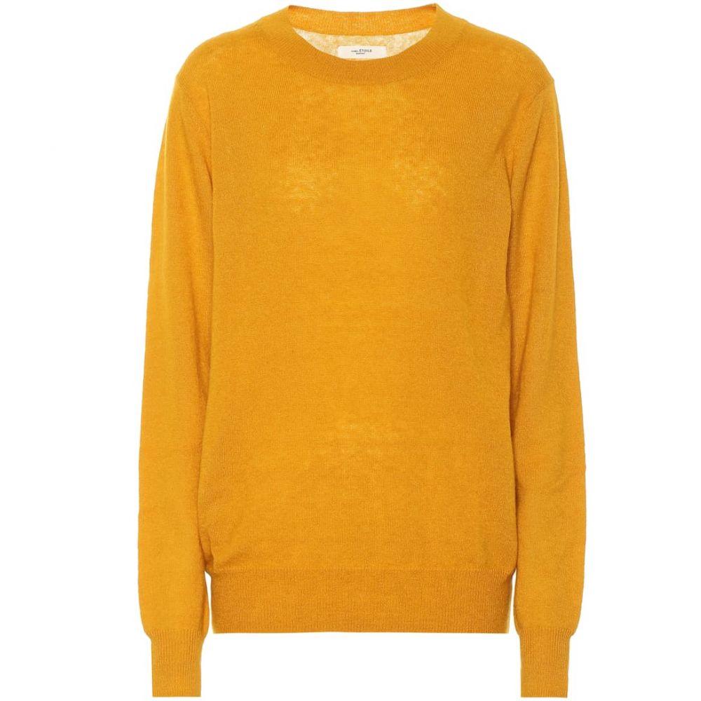イザベル マラン Isabel Marant, Etoile レディース ニット・セーター トップス【Blizzy alpaca and wool-blend sweater】Saffron