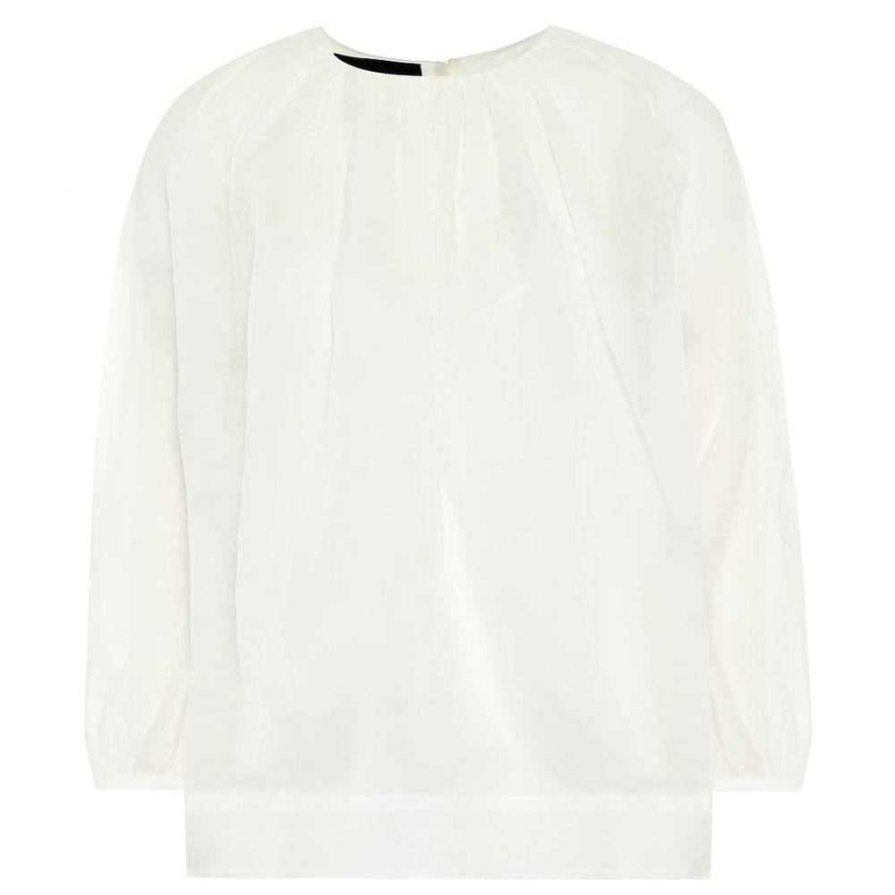 ロシャス Rochas レディース ブラウス・シャツ トップス【Silk blouse】Natural