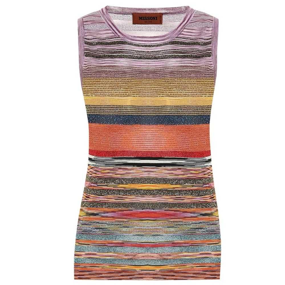 ミッソーニ Missoni レディース ニット・セーター トップス【Striped wool-blend top】