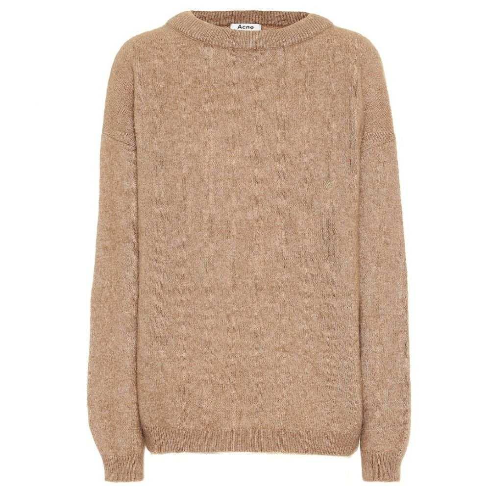 アクネ ストゥディオズ Acne Studios レディース ニット・セーター トップス【Wool-blend sweater】Caramel Brown