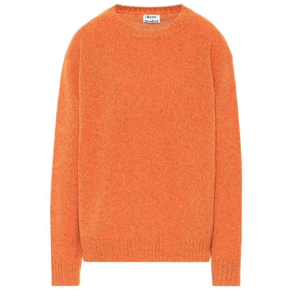 アクネ ストゥディオズ Acne Studios レディース ニット・セーター トップス【Oversized wool sweater】Carrot Orange