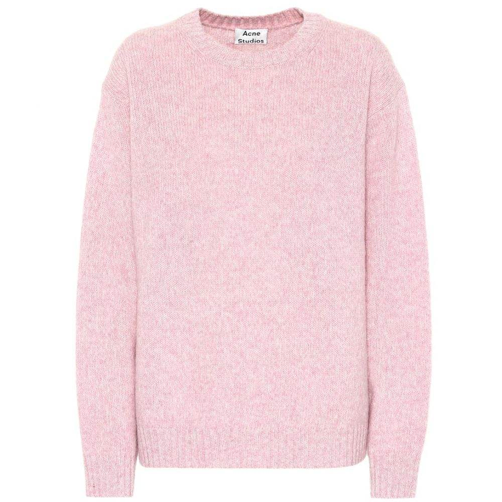 アクネ ストゥディオズ Acne Studios レディース ニット・セーター トップス【Oversized wool sweater】Pink/Beige