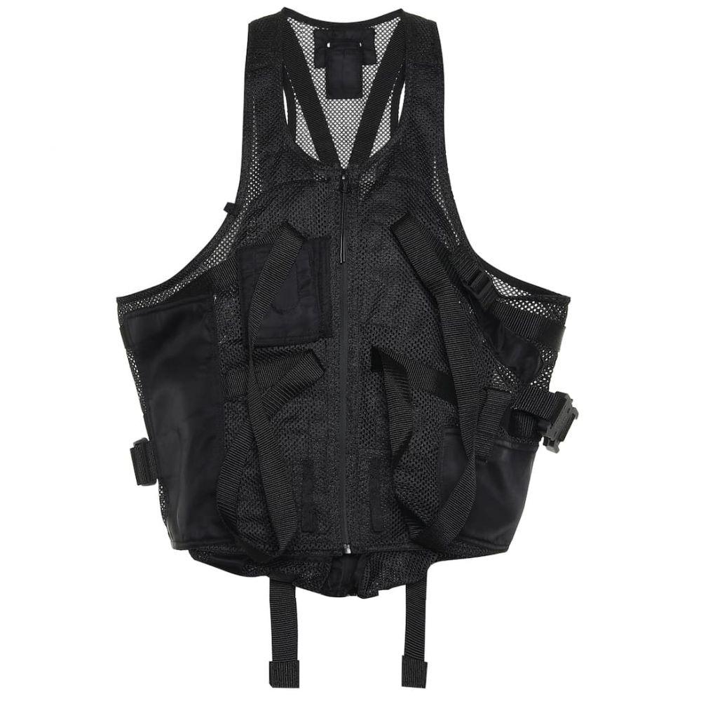アリクス 1017 ALYX 9SM レディース ベスト・ジレ トップス【Mesh vest】Black