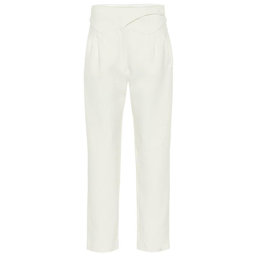 ブレイズ ミラノ Blaze Milano レディース ボトムス・パンツ 【Basque high-rise wool straight pants】Cream