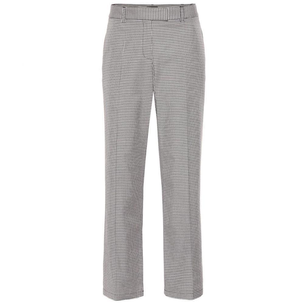 アーペーセー A.P.C. レディース ボトムス・パンツ 【Cece checked cotton-blend pants】Lza Faux Noir