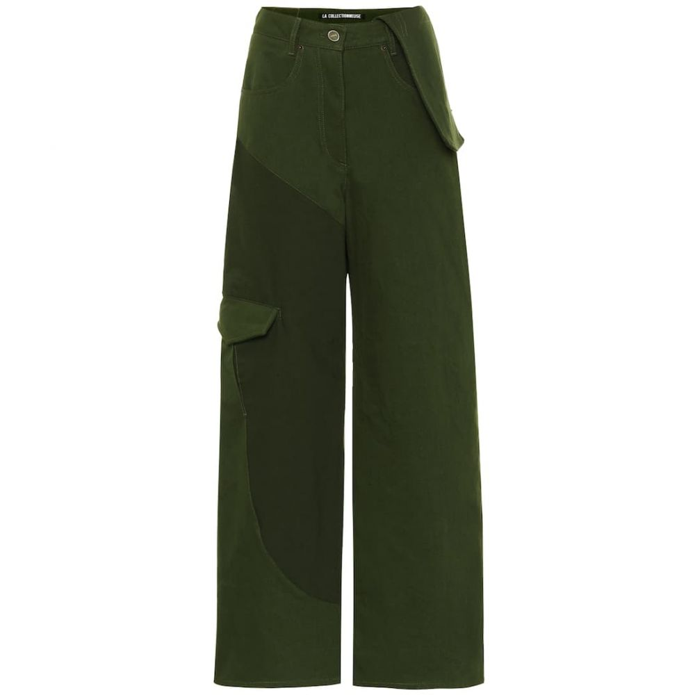 ジャックムス Jacquemus レディース ジーンズ・デニム ボトムス・パンツ【Le Jean De Nimes straight jeans】Kaki Green