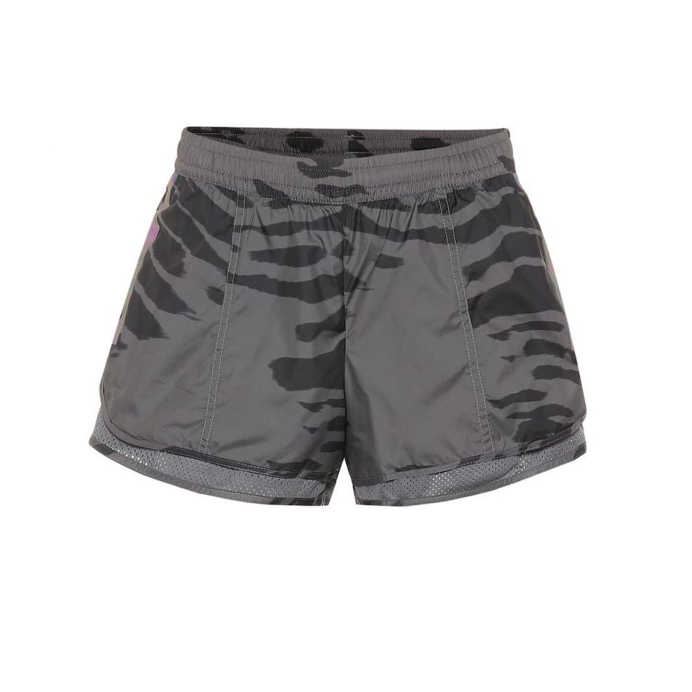 アディダス Adidas by Stella McCartney レディース ショートパンツ ボトムス・パンツ【Run M20 printed shorts】grey five