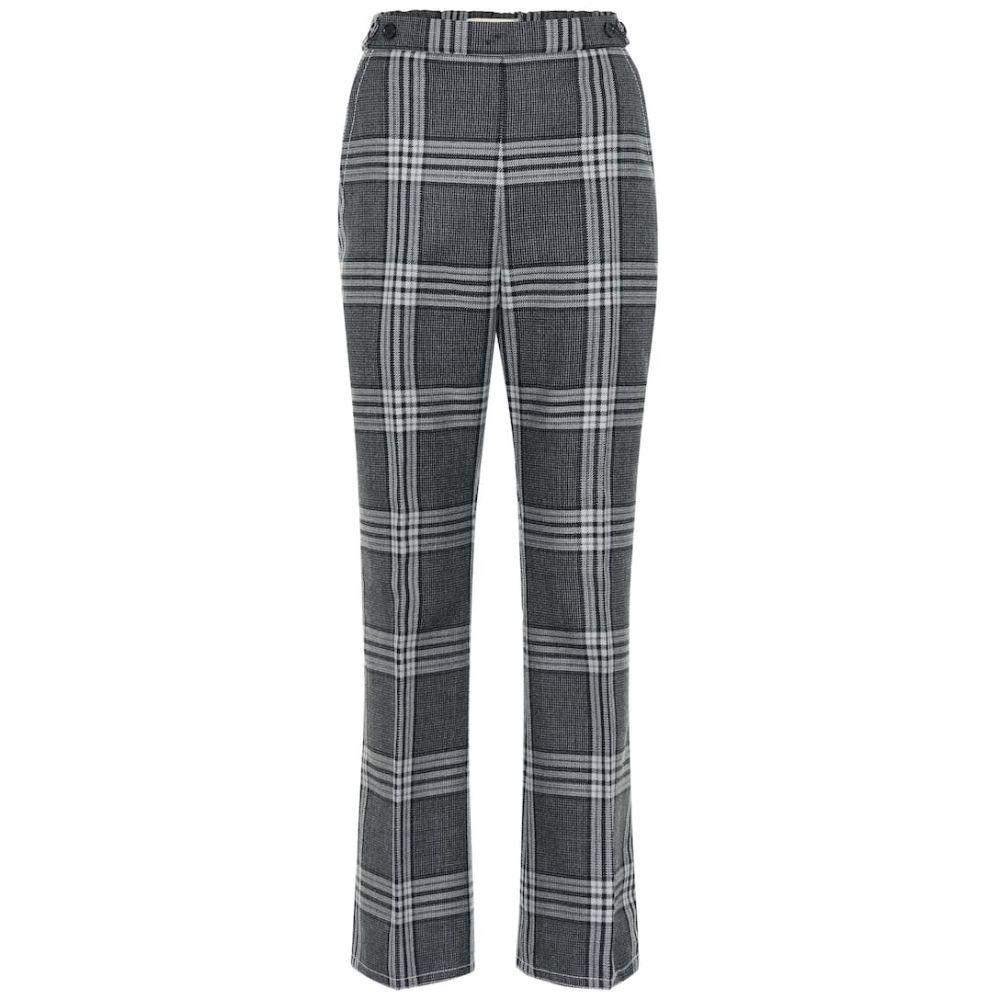 マルニ Marni レディース ボトムス・パンツ 【High-rise straight wool pants】